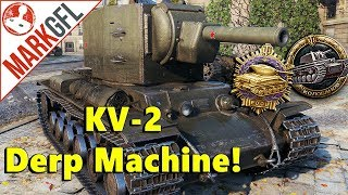 Never Underestimate a Surrounded and Outnumbered KV-2! - World of Tanks