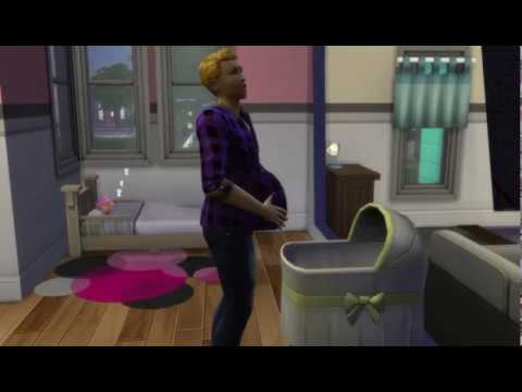 the-sims-4.-man-gives-birth-to-an-alien