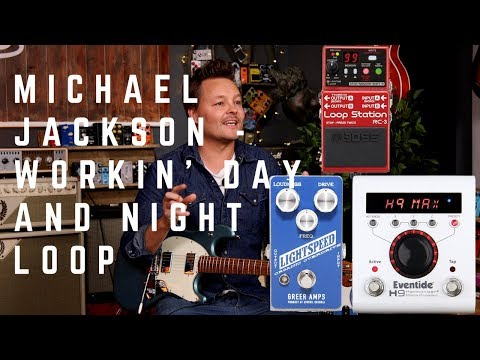 Workin' Day and Night - Michael Jackson Guitar Loop