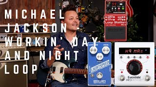 Workin' Day and Night - Michael Jackson Guitar Loop MP3