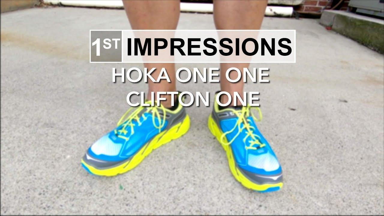 promo code e81d8 e9f86 1st Impressions - Hoka Clifton One