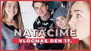 VLOGMAS Den 17. | Natáčíme vánoční video!