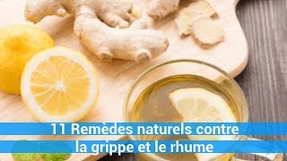 11 Remèdes naturels contre la grippe et le rhume-remede naturel c0ns3ils
