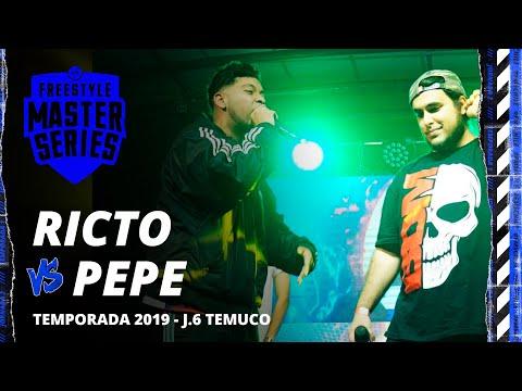 PEPE GRILLO VS RICTO FMS CHILE JORNADA 6 OFICIAL
