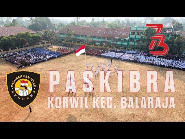Dokumentasi PASKIBRA Peringatan HUT RI Ke-73 Kecamatan Balaraja 2018