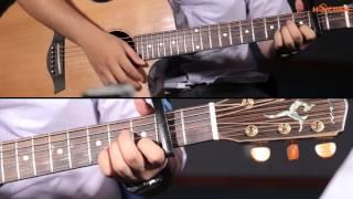 Hướng dẫn Yếu Đuối (Guitar - Hoàng dũng ) và cách quạt chả cực chất !