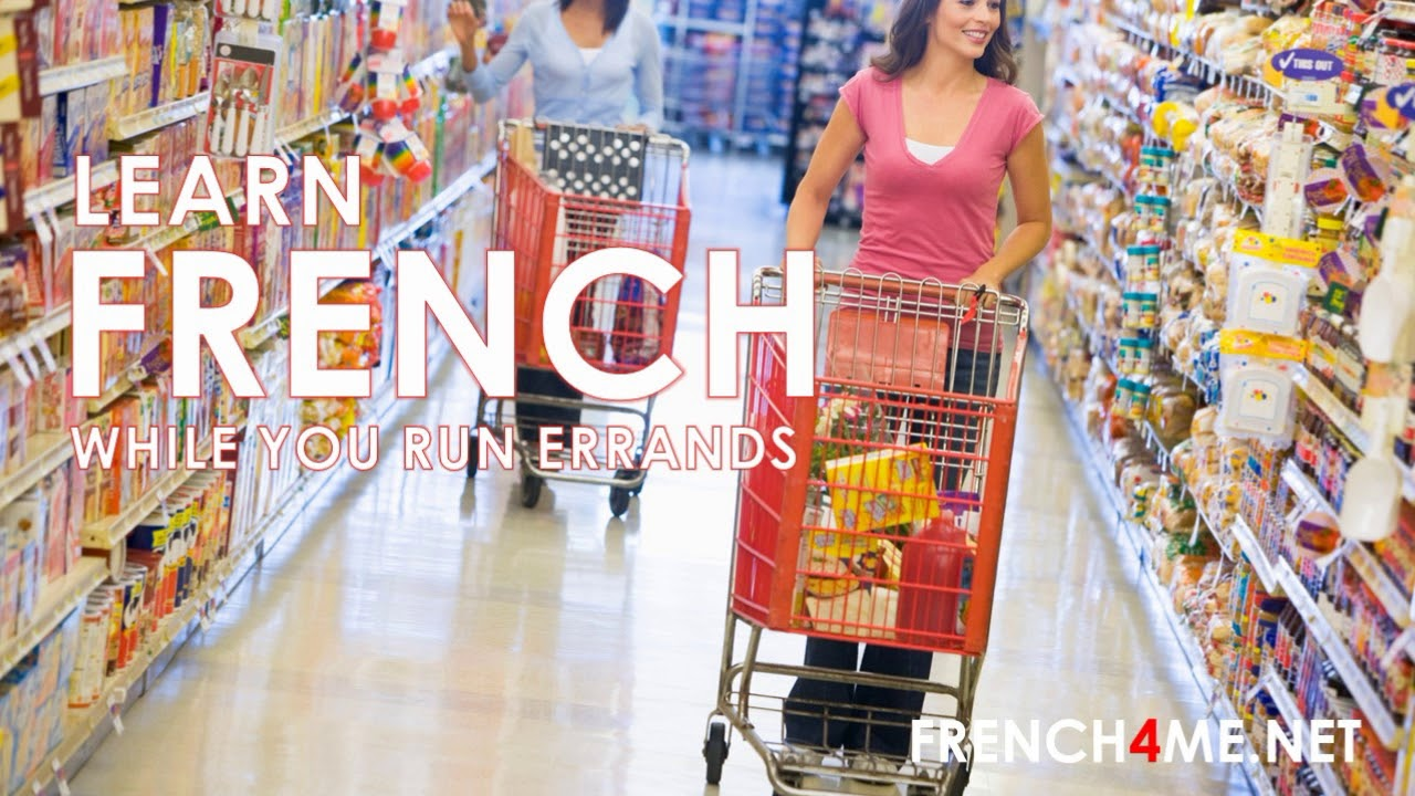 Learn While You Run Errands 2500 French Words By Topics Learnwhileyourunerrands
