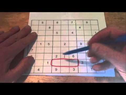 How to Solve a Sudoku Puzzle - Tip 2: The Adjacent Box Rule or Trick - Tutorial