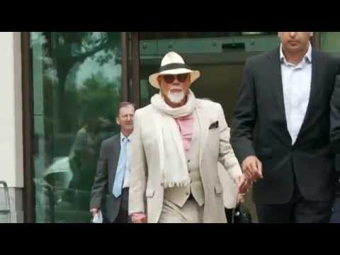 Gary Glitter told off for wearing sunglasses in court