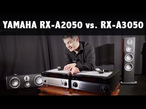 Yamaha RX-A3050 und RX-A2050 Test und Vergleich
