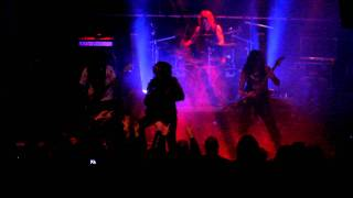 PSEUDOGOD - Necromancy Of The Iron Darkness (Live at BFoB II, Helsinki) 07.10.2011