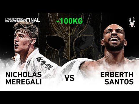 2019 SPYDER INVITATIONAL BJJ CHAMPIONSHIP FINAL -100kg Semi Final : N.Meregali Vs E.Santos(Full)