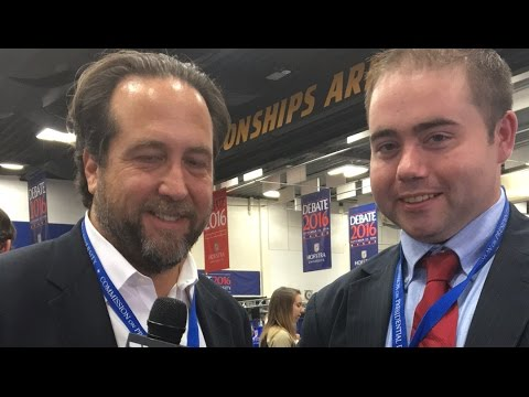 Post-Debate: Michael Shure Interviews Pro-Trump Reporters
