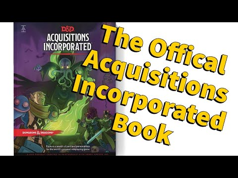 D&D News Update: Acquisitions Incorporated Book
