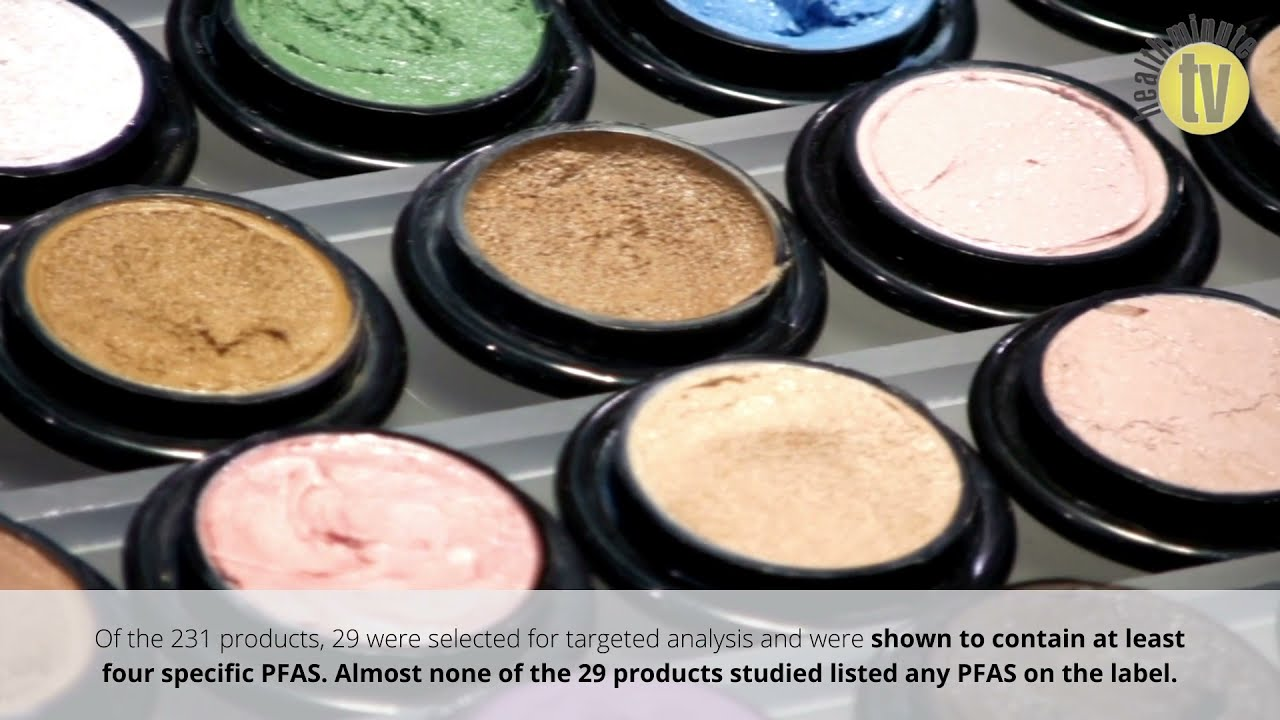 VIDEO: Majority of fluorinated compounds in cosmetics are unlabeled, new research suggests