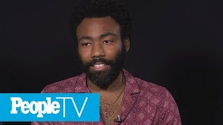 Donald Glover On The Advice Billy Dee Williams Gave To Play Lando | PeopleTV | Entertainment Weekly