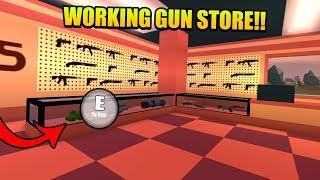 New Working Gun Store In Roblox Jailbreak - Update Tonight!