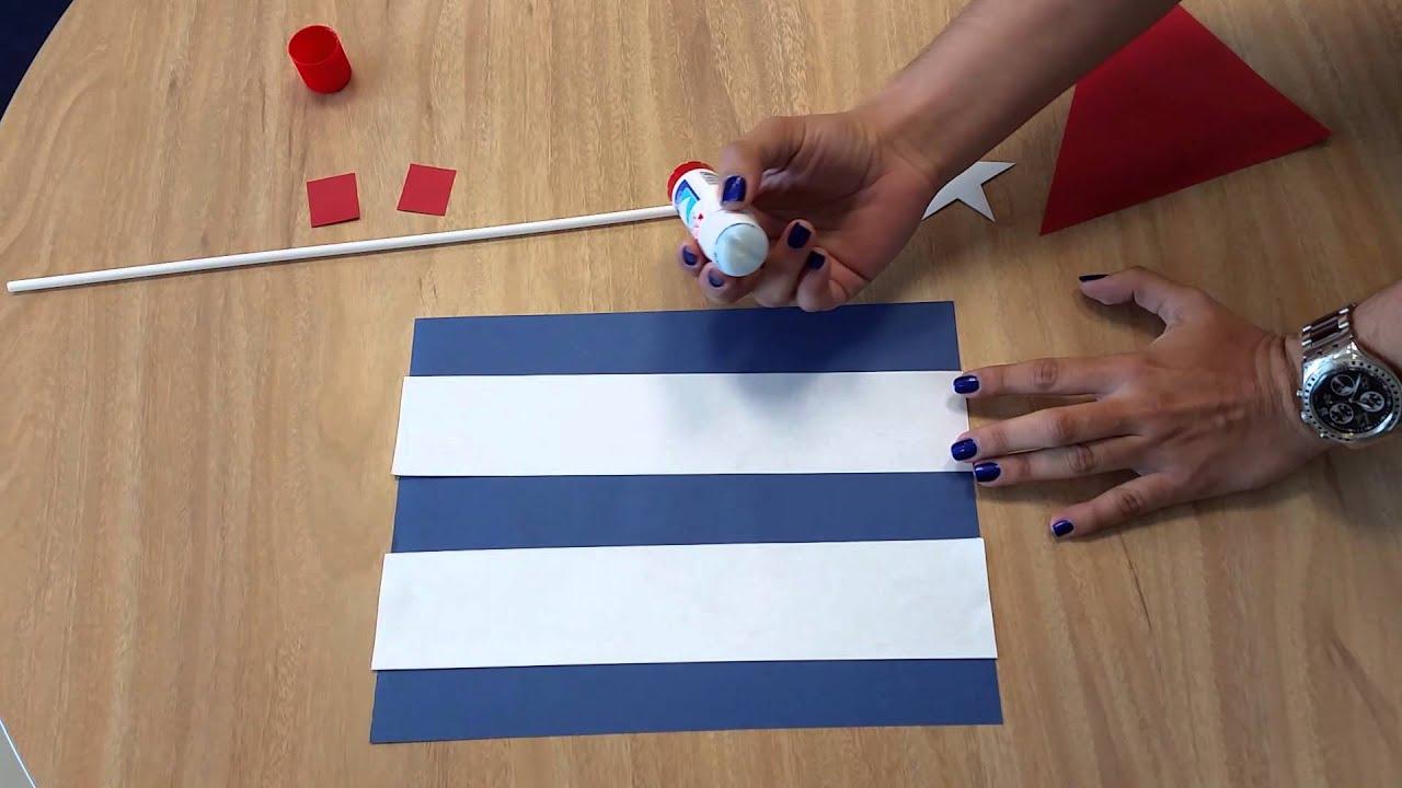Campaña Cuba O 4 Como Hacer Tu Bandera Cubana Youtube