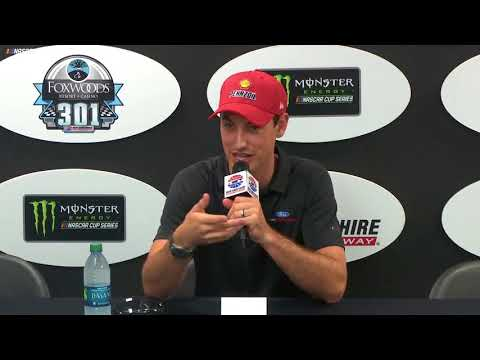 Logano Candid On What Winning At New Hampshire Means To Him