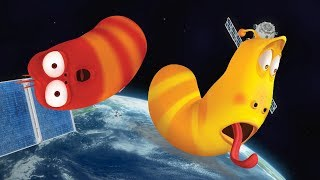 LARVA - LARVA IN SPACE | Cartoon Movie | Cartoons For Children | Larva Cartoon | LARVA Official