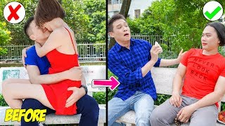 Girl DIY! 23 Funny DIY Couple Pranks / Prank Wars by T-FUN