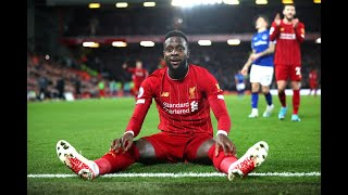 Divock origi has scored important goals throughout his liverpool career, including double in the merseyside derby against everton december 2019!!summa...