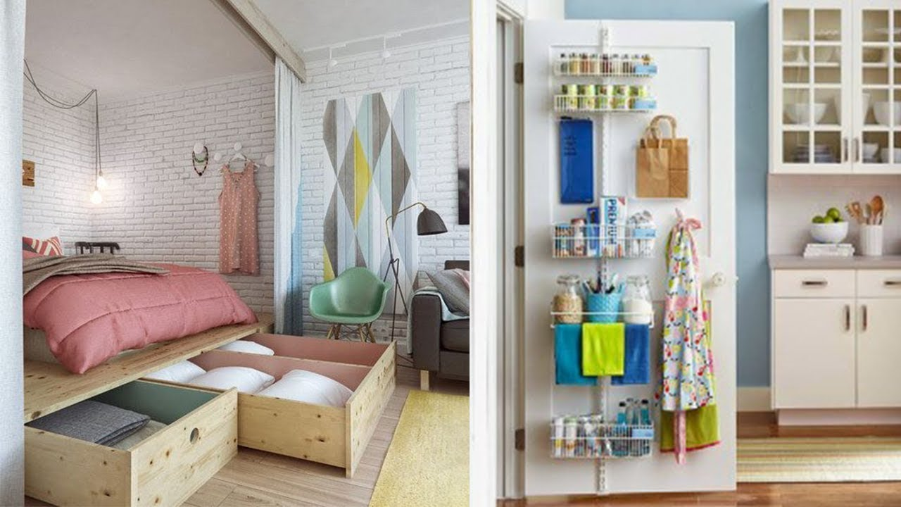 10 Smart Small Apartment Storage Ideas