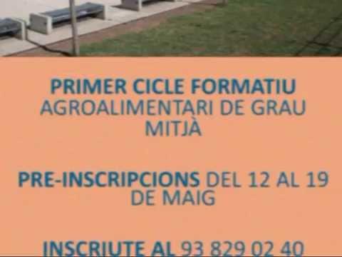 L'Institut de Puig-reig a la Fira de l'1 de maig de Berga per conèixer el Cicle Agroalimentari.