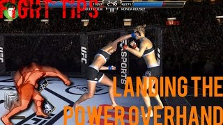 EA SPORTS UFC Mobile - Fight Tips: Landing the Power Overhand