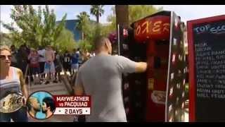 Punching Power Machine: Evander Holyfield Vs Cain Velasquez