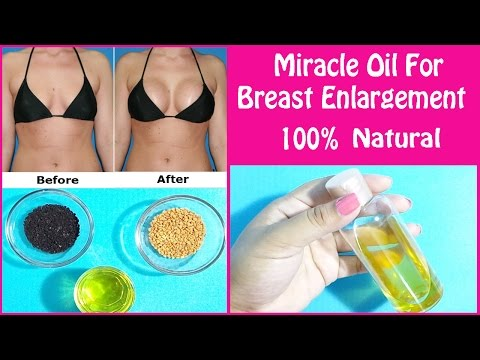 Miracle Oil For Breast Enlargement(100% Natural) Tighten Your Saggy Breast