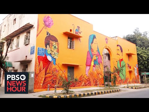With muralism, Mexico's rich tradition of public art extends well beyond its borders