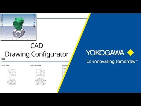 Yokogawa CAD Drawings Configurator