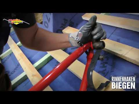 Montageanleitung für Dachpaneele mit Stehfalz   Teil 2
