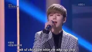 [Vietsub] 160902 One More Step - Kihyun ( Monsta X) @ KBS Broadcasting Award