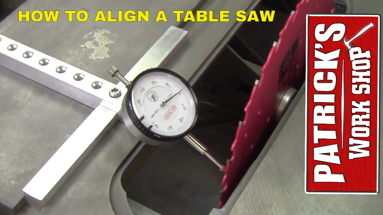 Table Saw Dial Indicator