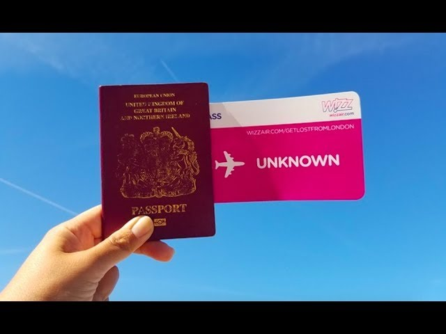 FLYING TO AN UNKNOWN DESTINATION #AD