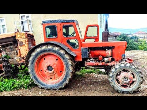 Трактор Т 40  поднял передок у  трактора ДТ 75 L Трактор Т 40 против Трактор ДТ 75