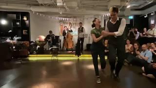 IG HOP // DIR#9 Welcome Impro Performance // Samantha Nguyen & Blake Thiessen
