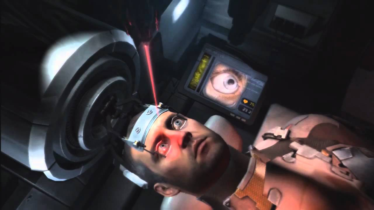 dead space 2 eye machine