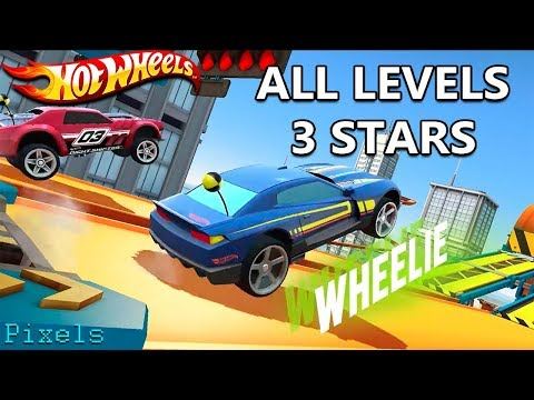 Hot Wheels: Race Off - Level 31 to 40 All Levels 3 Stars
