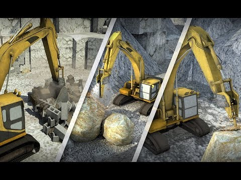 Hill Excavator Mining Truck 3D | Android Gameplay (Cartoon Games Network)