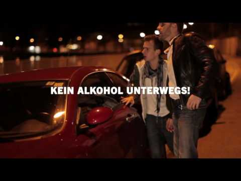 """Videos zum Schwerpunktthema """"Kein Alkohol unterwegs!"""