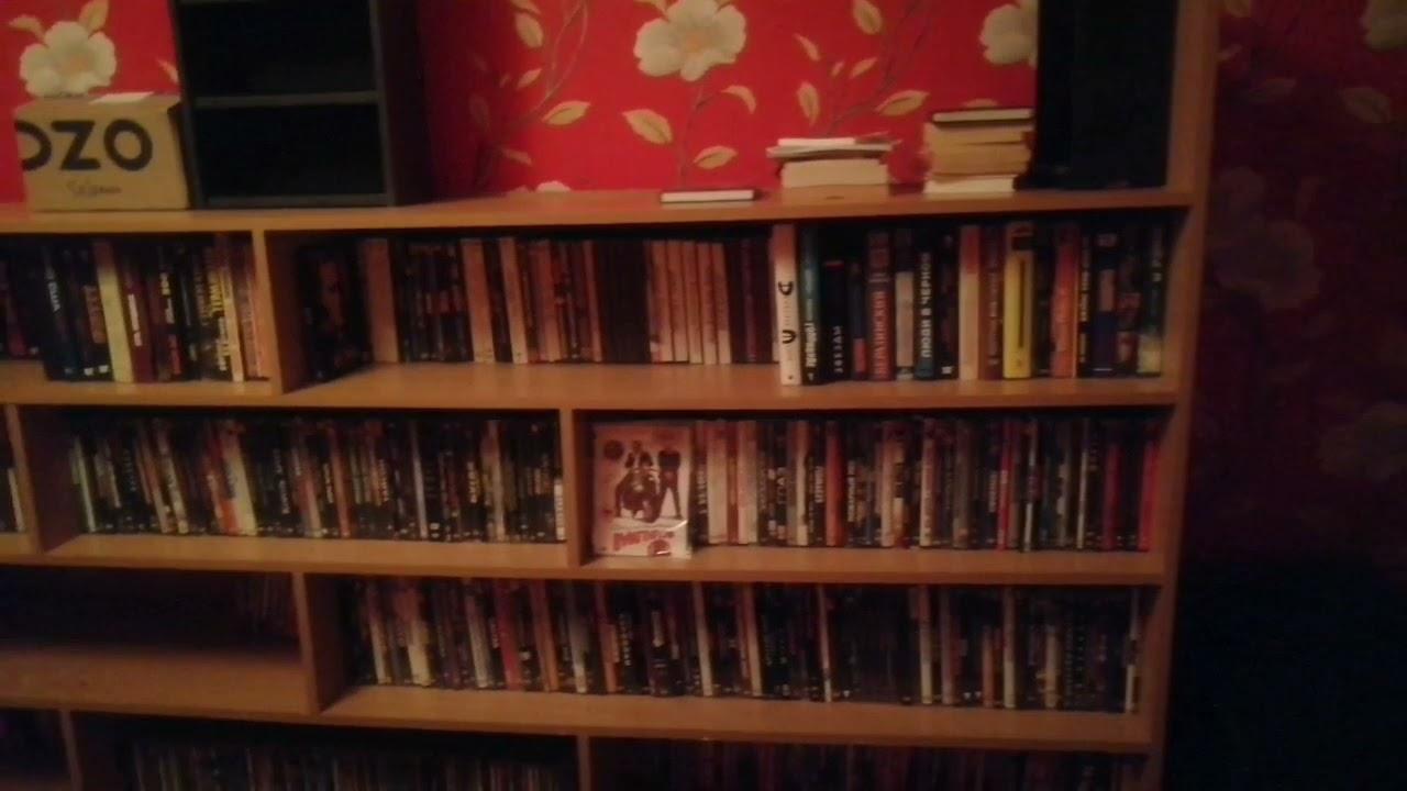 Приобрёл стеллаж под VHS, dvd, cd, book и т.д.