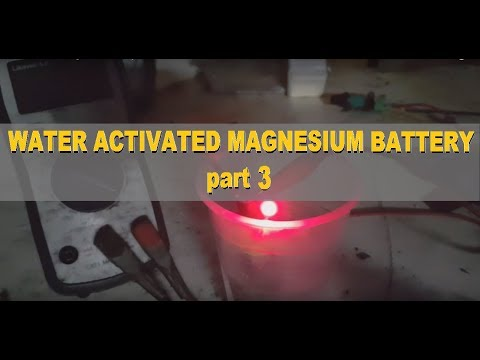 Water Activated Magnesium Air Battery 3