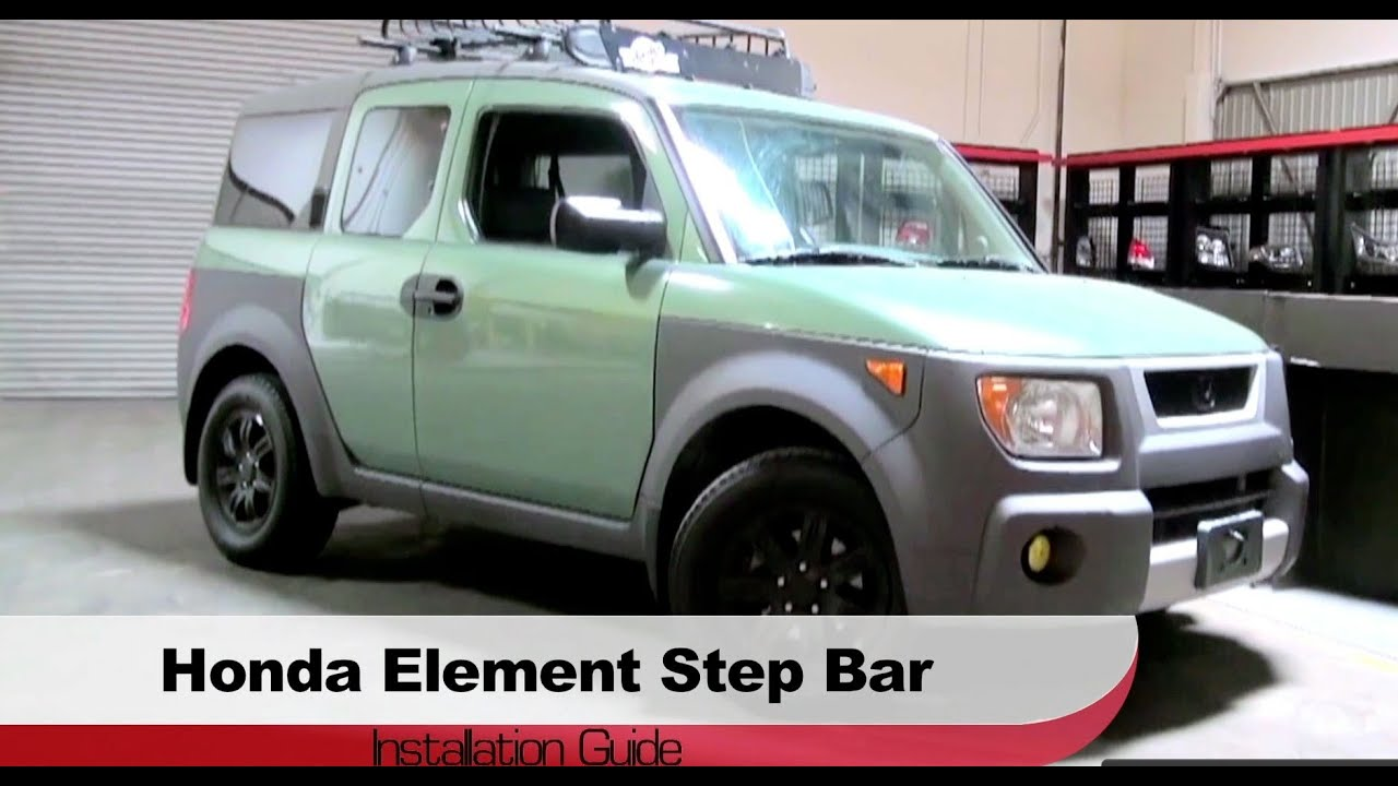 Superior Spyder Auto Installation: 2003 2010 Honda Element Step Bars   YouTube