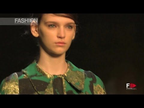 ERDEM Full Show London Fashion Week Autumn Winter 2015 2016 by Fashion Channel