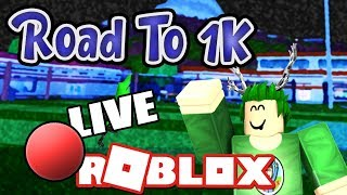 🔴 Road To 1k! | Playing With You Guys! | Roblox With Ozzers Oz [#2]