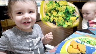 Twins Eat Green Eggs | Happy Birthday Dr. Seuss!
