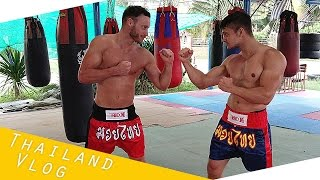Thai Boxen auf Koh Samui / Traditionelles Thaibox Training - Reise Vlog